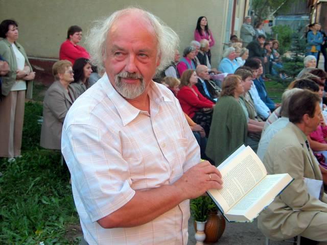 Rašytojas R. Vanagas. T, Kontrimavičiaus nuotrauka.