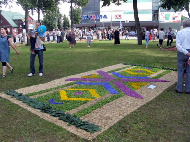 Šimonių (Kupiškio r.) kilimo raštai - konkurso III vieta