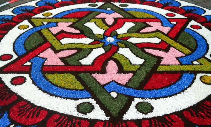 Konkurso nugalėtojas itališkasis kilimas.