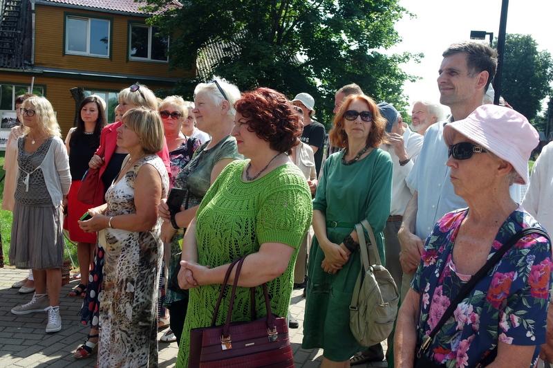Vilniaus anykštėnai renginyje.
