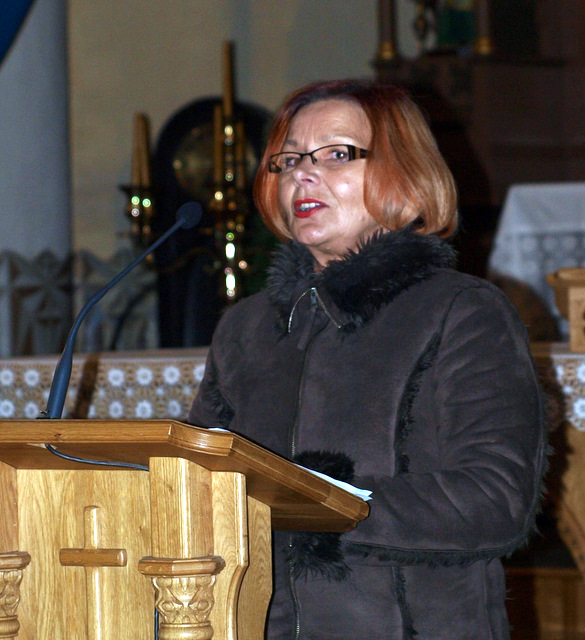 Nominantą H. A. Čigriejų iškilmių metu pristatė mokytoja O. Jakimavičienė