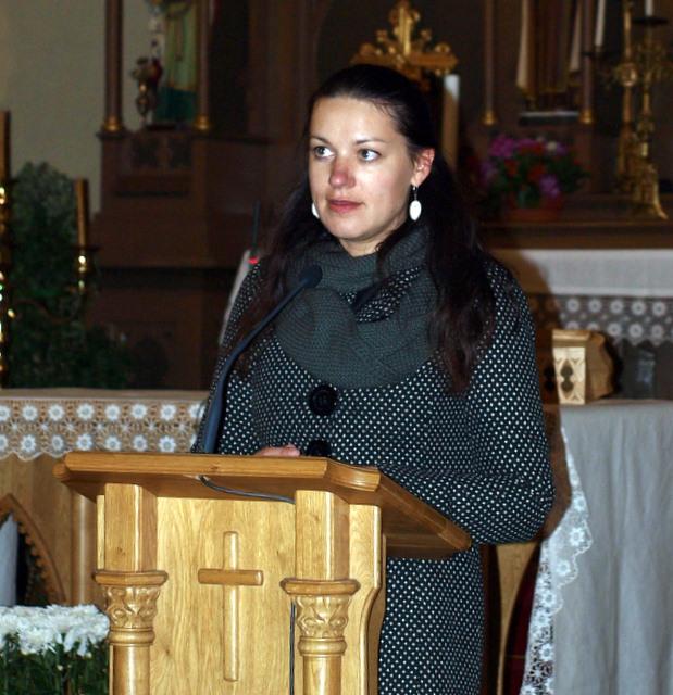 Laureatą P. Subačių pristatė kalbininkė, premijuotos jo studijos specialioji redaktorė Rima Malickaitė