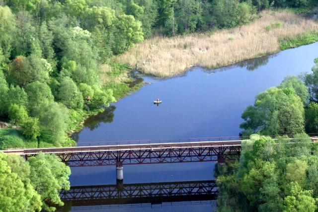 Šventoji ir siaurojo geležinkelio tiltas