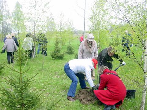 Arboretumą papildė dar dvi dešimtys retų rūšių augalų.