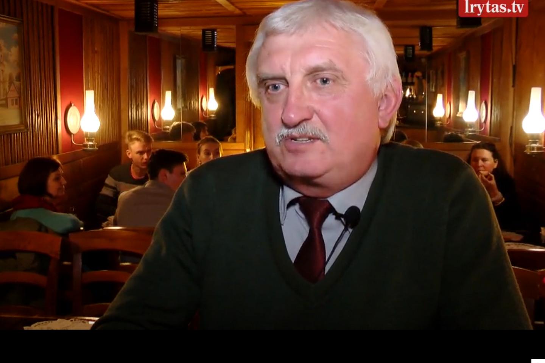 Verslininkas Algirdas Gansiniauskas.