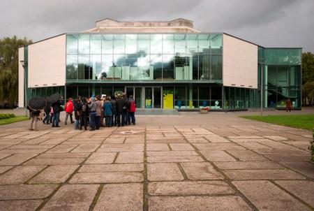 Rekonstruojamas Kultūros centras. Norbert Tukaj nuotrauka