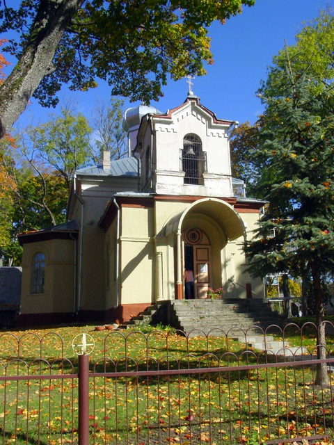 Anykščių stačiatikių Šv. Aleksandro Nevskio bažnyčia.