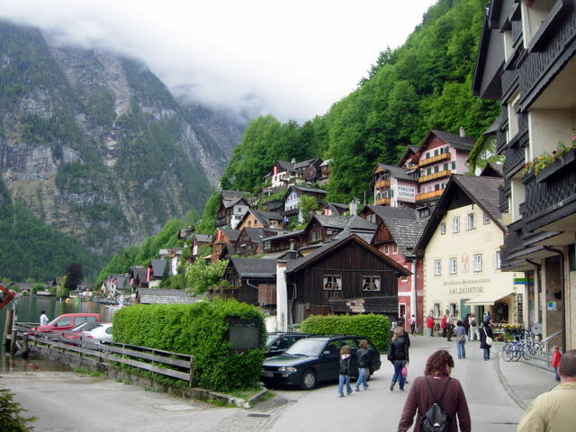 Hallstatto miesteliui - apie 7 tūkstančius metų