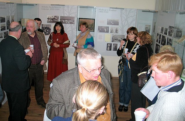 Susitikimas A.Vienuolio name-muziejuje