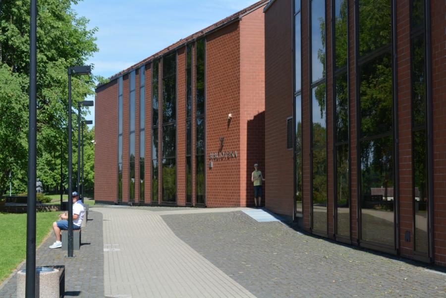 Anykščių L. ir S. Didžiulių viešoji biblioteka. Mato Šiupšinsko nuotrauka