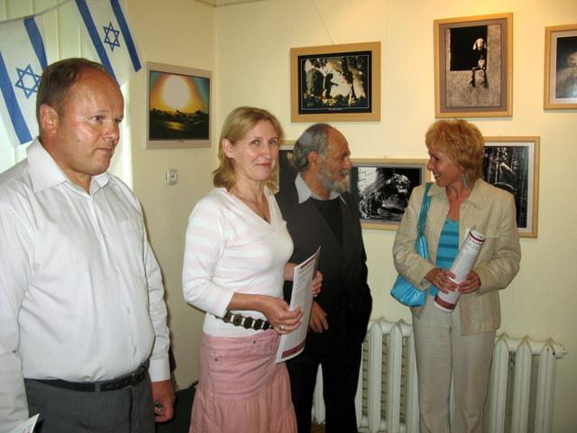 G. Fridbergas tarp Anykščių bibliotekininkų
