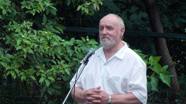 Rašytojas V. Račkaitis