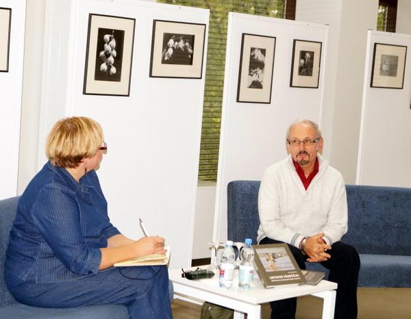 D. Nefienės ir B. Šablevičiaus pokalbis.