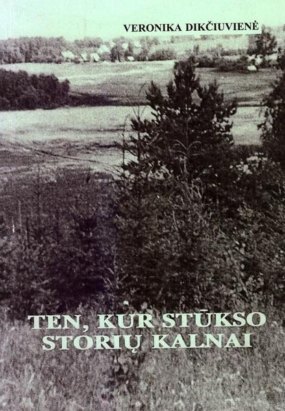 V. Dikčiuvenės knyga apie gimtąjį kaimą – Storius.