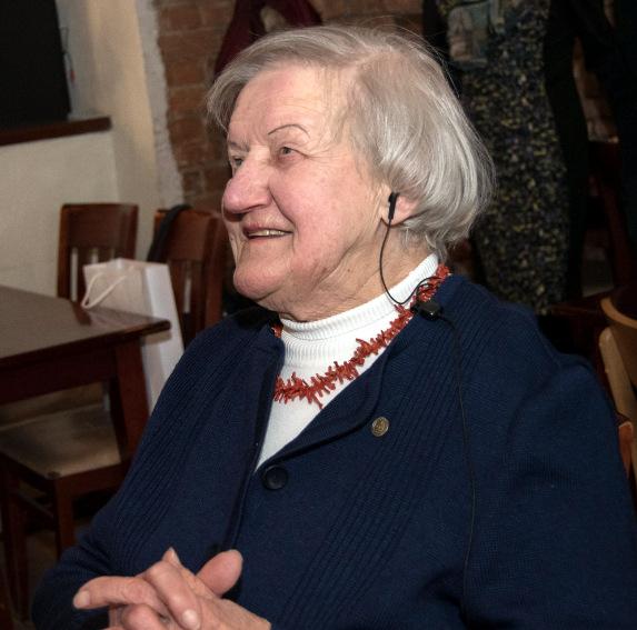 Jubiliatė Irena Jurevičienė.