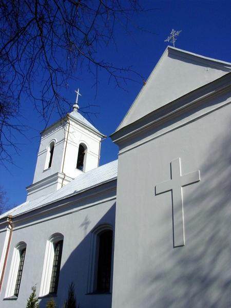 Vyžuonų bažnyčia.