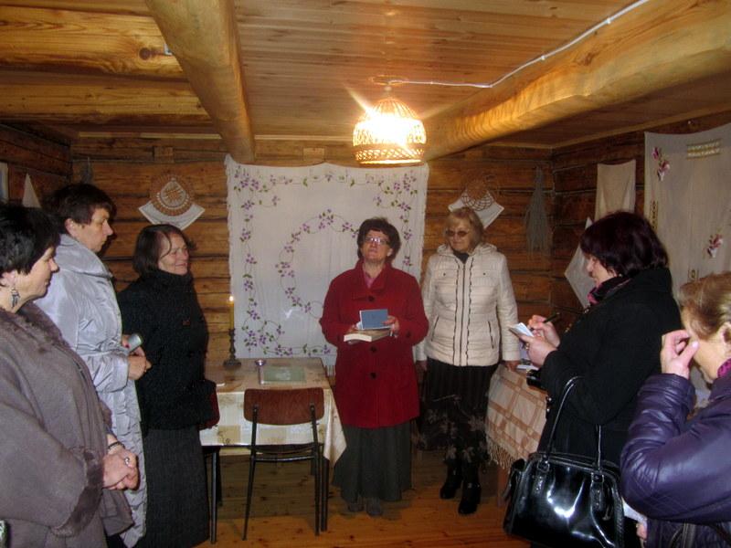 Knygos pristatymas Burbiškyje