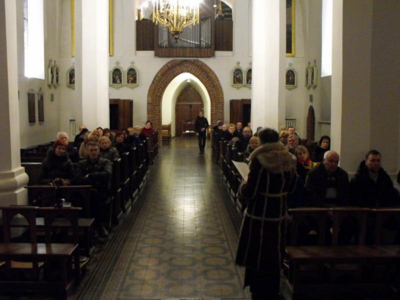 Renginys Kauno Vytauto Didžiojo bažnyčioje.