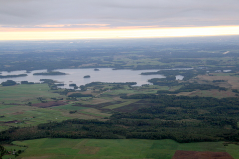 Pamėlusioje tolumoje - Rubikių ežeras