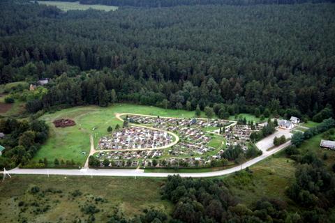 Pietinis Anykščių priemiestis, naujosios Anykščių kapinės