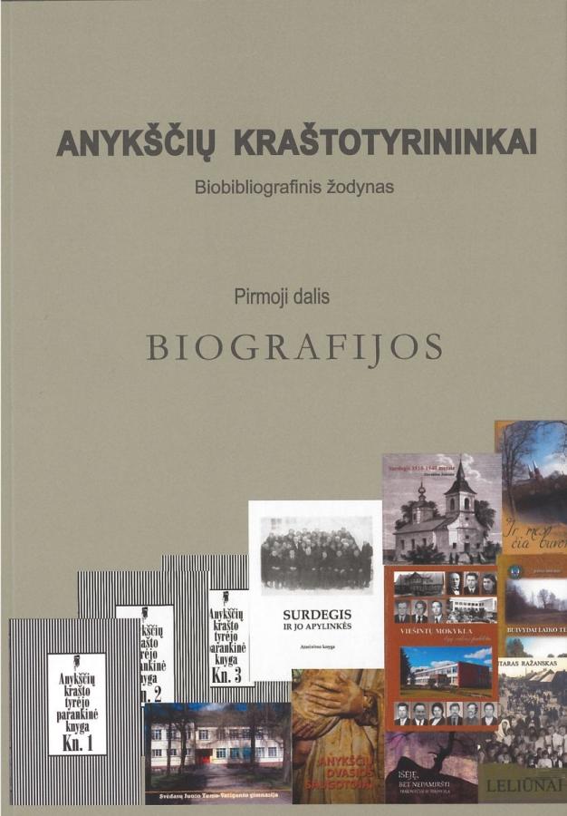 Anykščių kraštotyrininkų biografijų leidinys