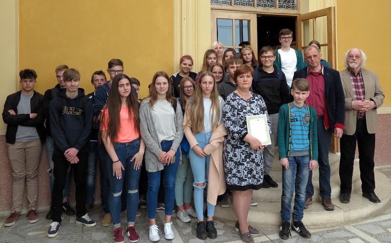 Paskutinioji Anykščių akademijos paskaita su V. V. Landsbergiu.
