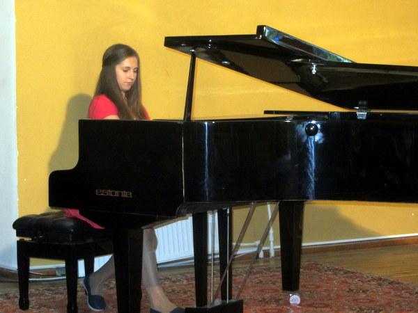 Groja pianistė Vaiva Vanagaitė