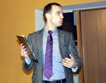 Doc. dr. Ramūnas Vanagas. Tomo Tuskenio nuotrauka