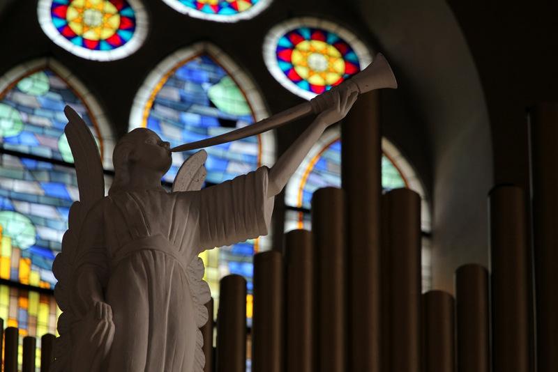 Anykščių bažnyčios vargonai. Nerijaus Papirčio nuotrauka.