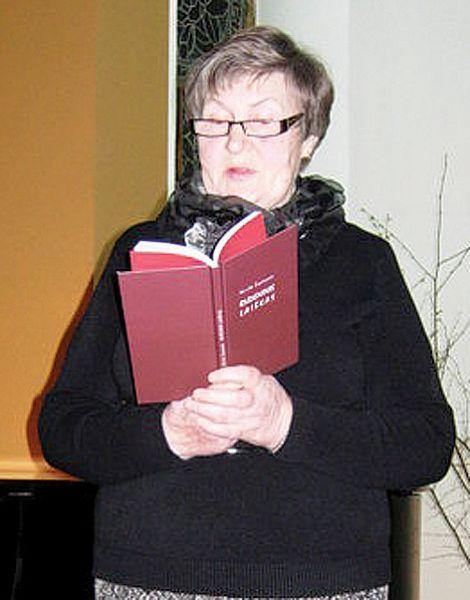"""A+A Akvilė Žąsinaitė-Giliauskienė. Nuotrauka iš laikraščio """"Šilelis"""" archyvo."""
