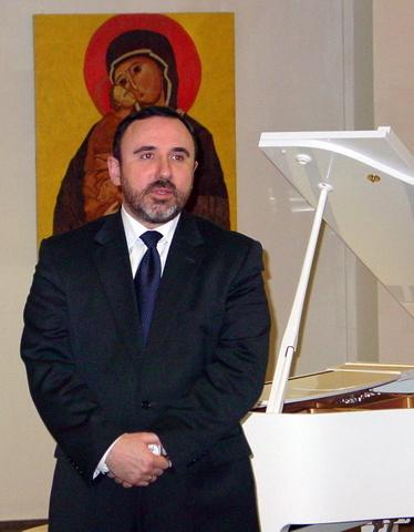Kultūros ministras A. Gelūnas.