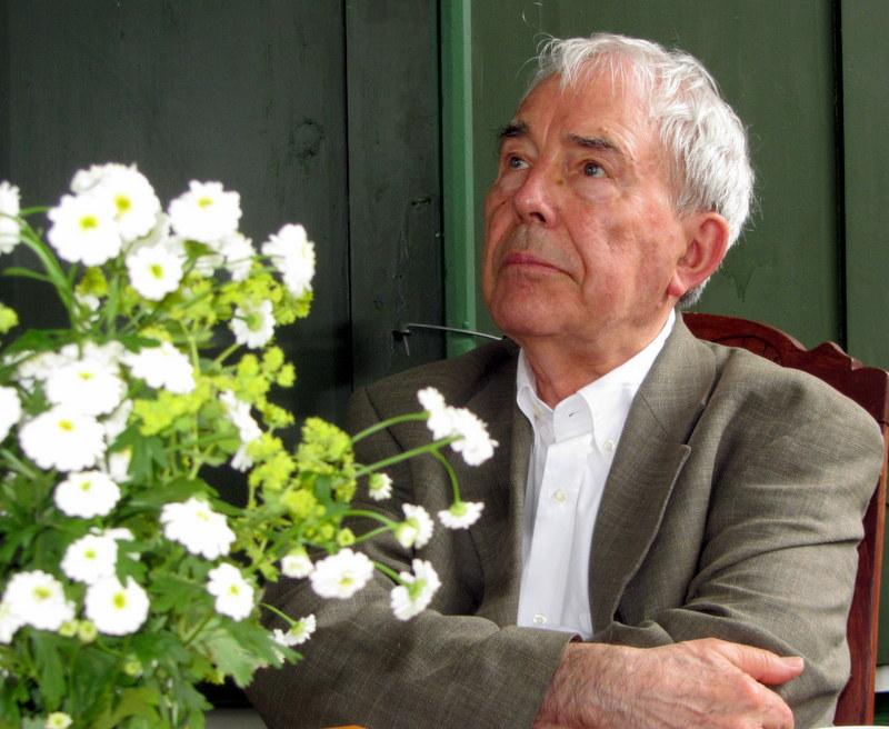 Leonas Stepanauskas A. Vienuolio name-muziejuje.