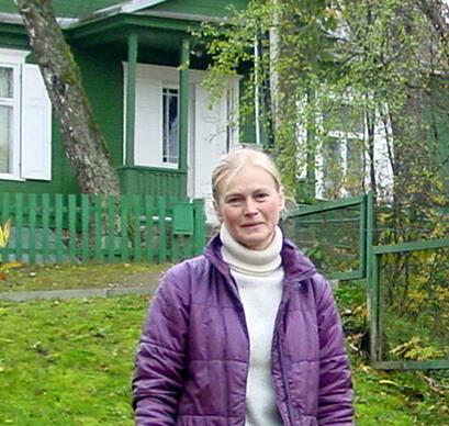 Muziejininkė A. Ambraškaitė. VŽM nuotrauka