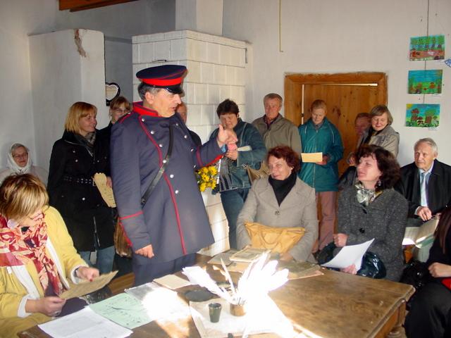 Mėgėjams skaityti lietuviškai - žandaro Raimondo pagraudenimai.