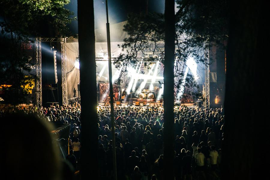 Festivalio naktys Dainuvos slėnyje.