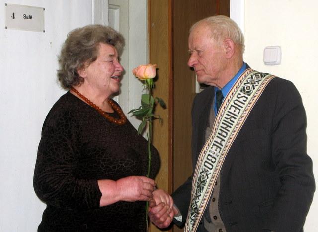 Emilijos Vitkūnaitės rožė - Jubiliatui