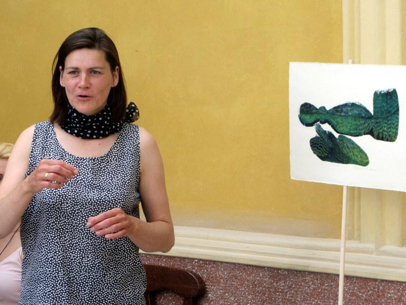 Dailininkė Inga Dargužytė.