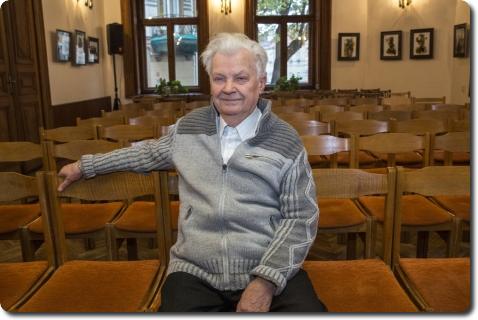 """Rašytojas Antanas Drilinga. """"Lietuvos žinių"""" nuotr."""