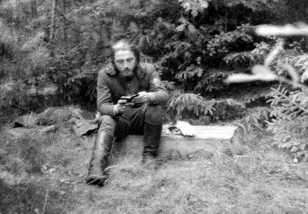 Jurgis Urbonas-Lakštutis 1947 m. vasarą. VŽM nuotrauka
