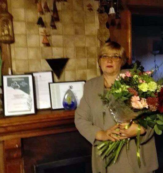 Mokytoja Dangira Nefienė. Asmeninio albumo nuotrauka.
