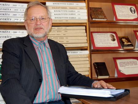 Prof. dr. Osvaldas Janonis.