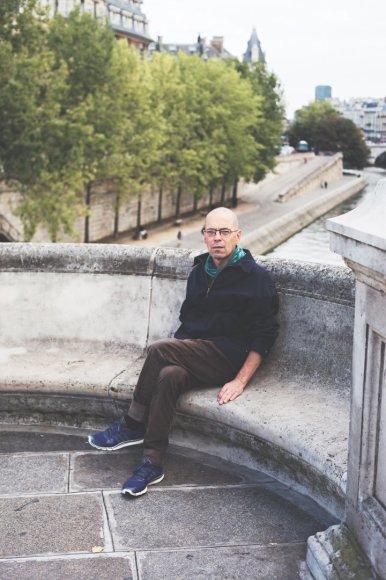Valdas Papievis Paryžiuje.