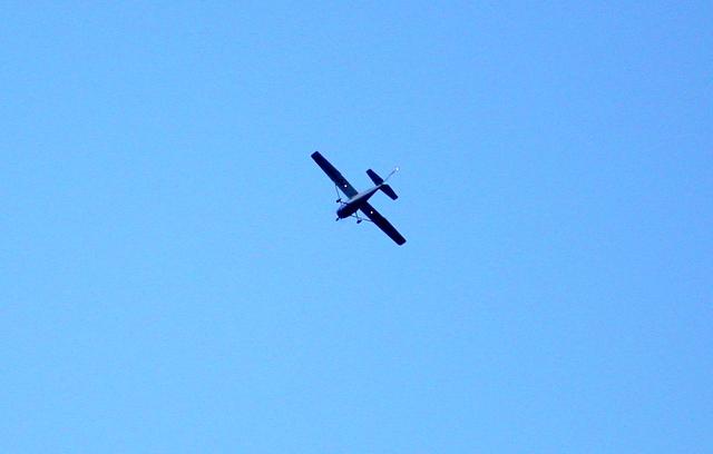 Virš Puntuko - aviatorių sveikinimai.