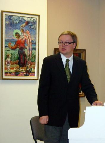 Pianistas Daumantas Kirilauskas