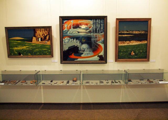 Parodoje - J. Mieliulio kūriniai ir archeologiniai radiniai