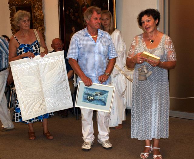 Kauno menininkų muziejui dovanotuose kūriniuose - angelų motyvai