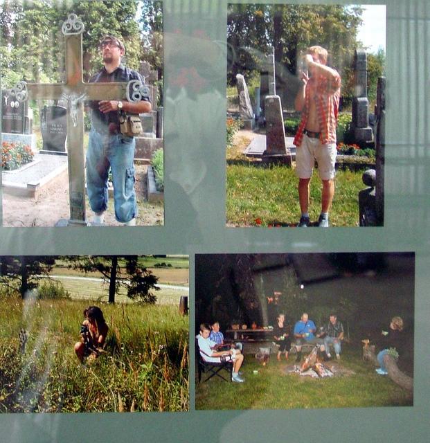 Parodoje eksponuojami vaizdai ir iš ekspedicijos kasdienybės