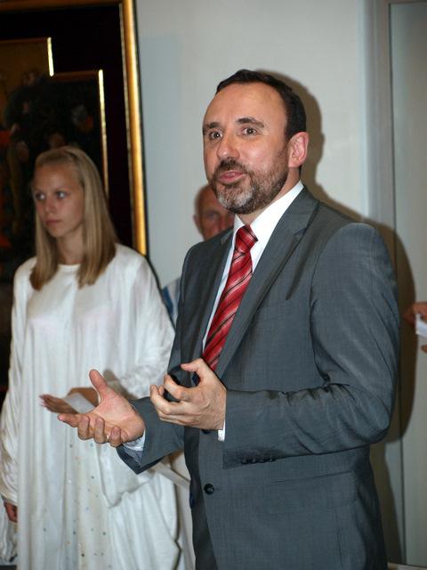 Kultūros ministras A. Gelūnas