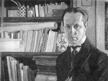 M. Dobužinskio autoportretas.