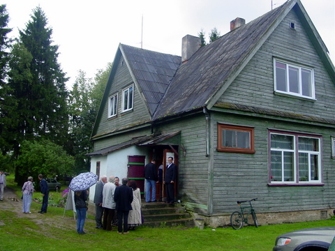 Senoji Latavėnų mokykla.